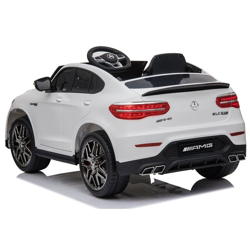 "Vienvietīgs elektromobilis ""Mercedes QLS-5688"", balts"